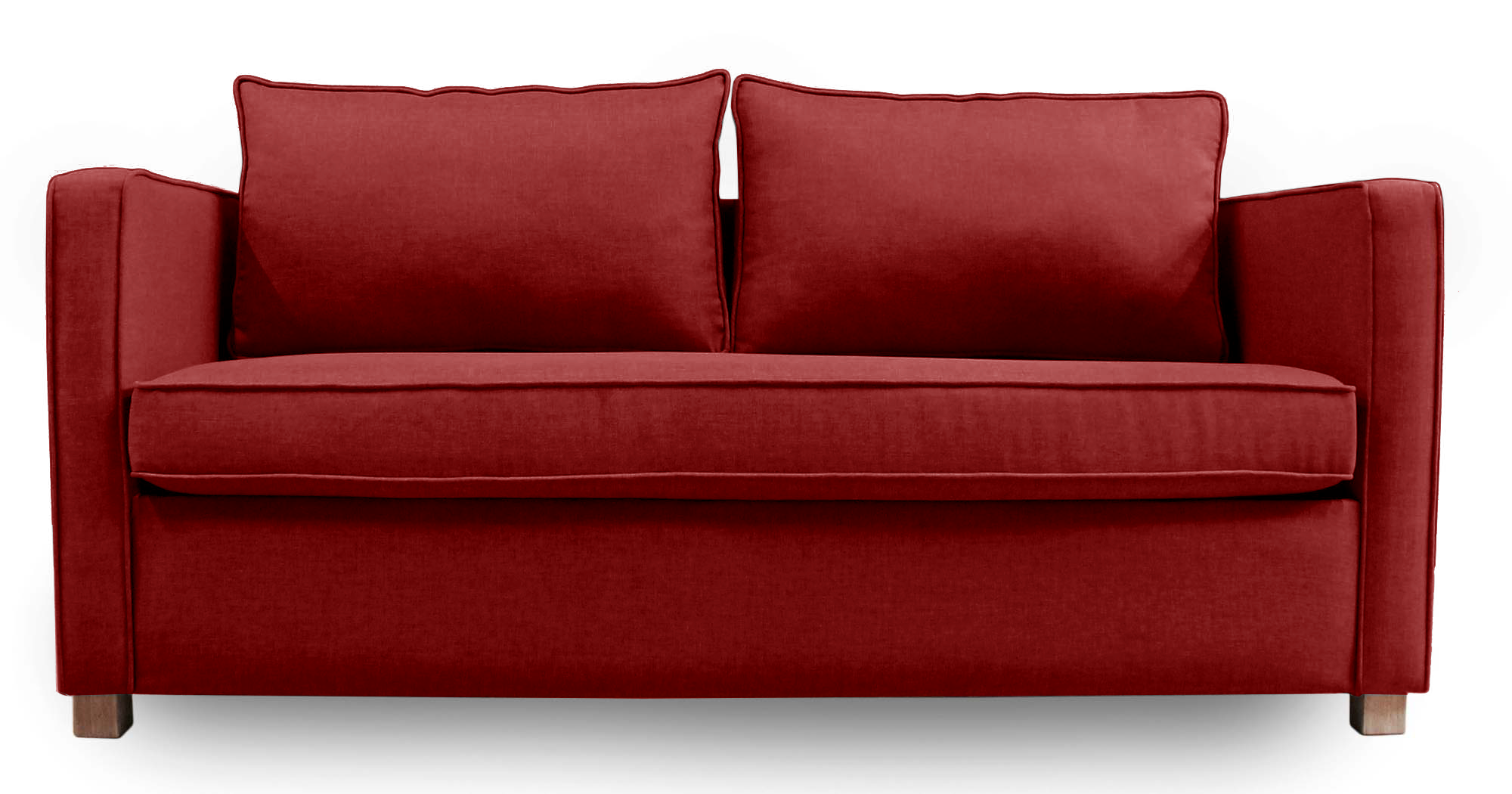 Sofa Cama Rosen Quantum Red