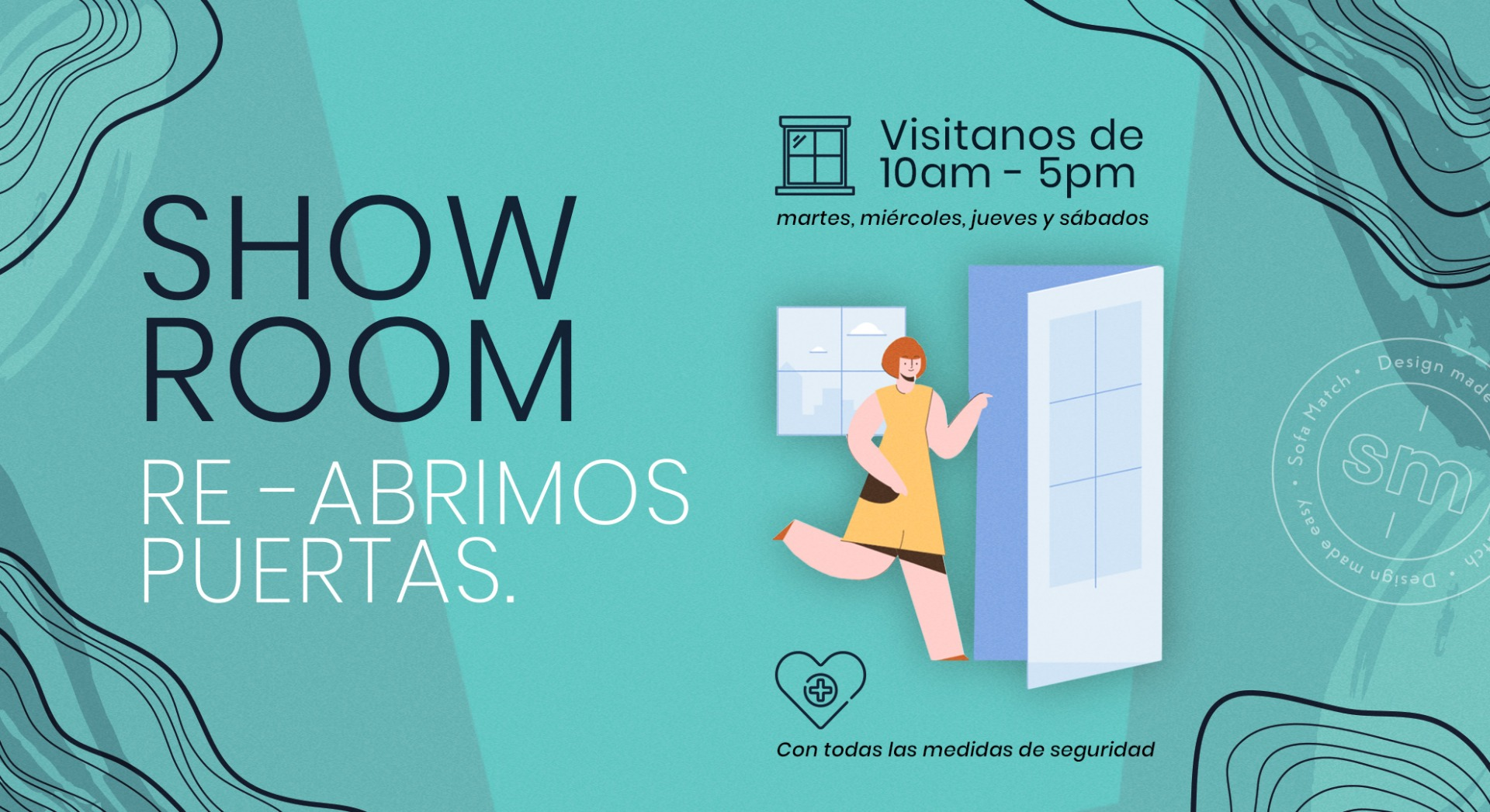 Re Apertura de showroom Sofamatch